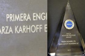 Primera and Garza Karhoff Engineering Receive Mentor-Protégé Award