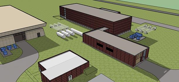 Cryo Module Test Facility (CMTF) Building Title II Design