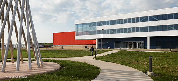 Illinois Accelerator Research Center – Office, Technical, and Education Building