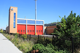 Engine Company 109 Fire Station & Little Village Library