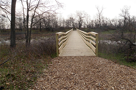 Boardwalks and Swale Crossings at Illinois Beach State Park