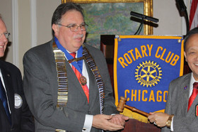 Dr. Pedro Cevallos-Candau Installed as 111th President of Rotary Club of Chicago