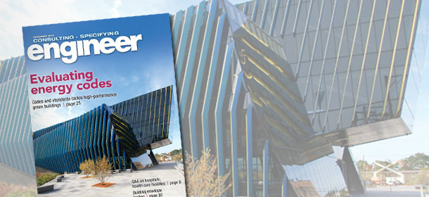 Primera on the Cover of Consulting-Specifying Engineer Magazine