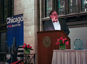 Dr. Pedro Cevallos-Candau Named 2015 Chicago Illini of the Year