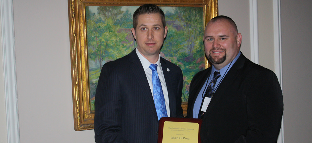 Jason DeRosa, Senior Electrical Engineer at Primera, Receives the William P. Hogan Award for Technical Merit