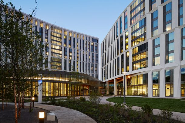 University of Chicago Celebrates Grand Opening of the Campus North Residential Commons and Frank and Laura Baker Dining Commons
