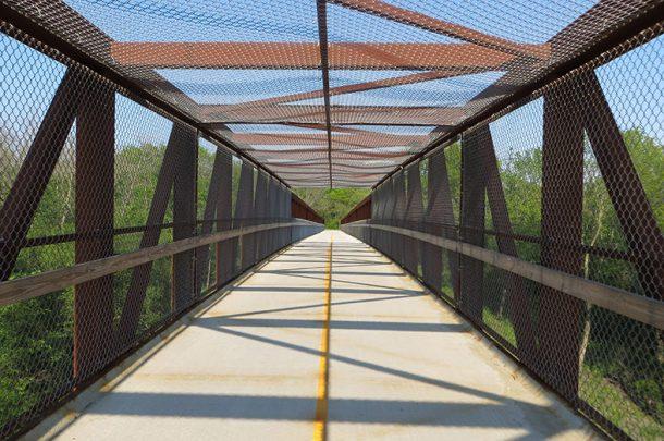 Thorn Creek Bicycle Trail Bridges