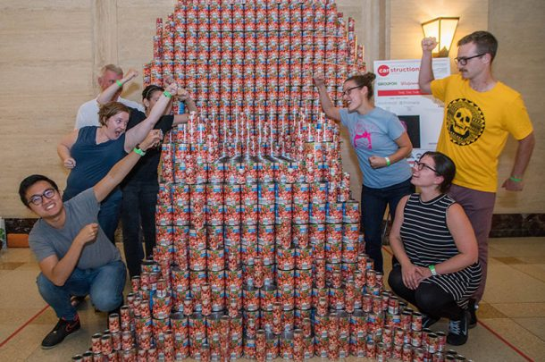 Primera Partners with Muller+Muller Architects for 10th Annual Canstruction Chicago Event