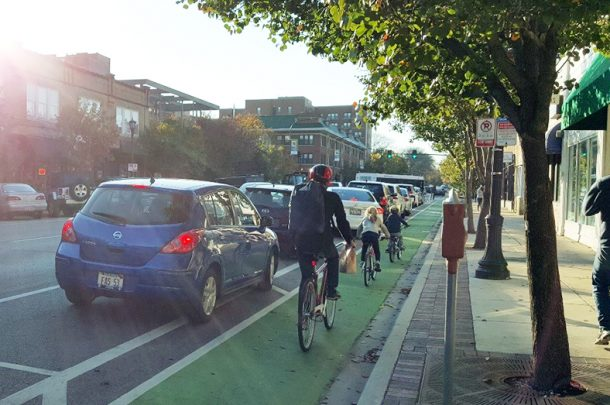 Rolling out Separated Bike Lanes