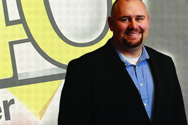 "Senior Electrical Engineer Jason DeRosa recognized in CSE's ""40 Under 40"""