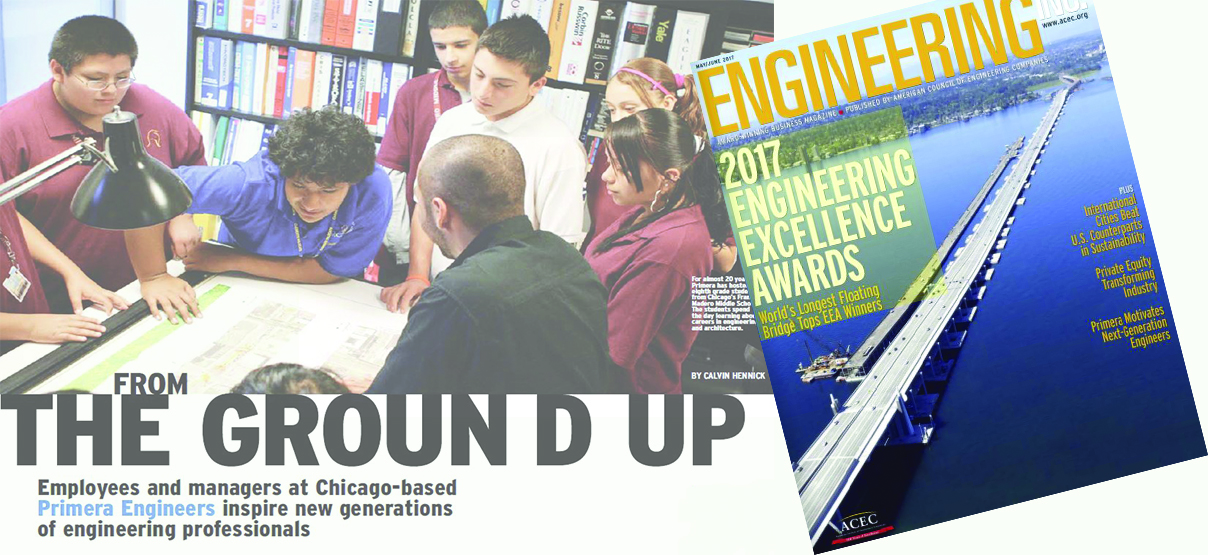 Primera's Corporate Social Responsibility Efforts Featured in Engineering Inc. Magazine
