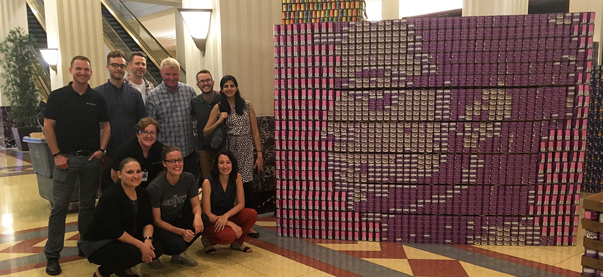 Primera Team Honors Prince in 11th Annual Canstruction Chicago Event
