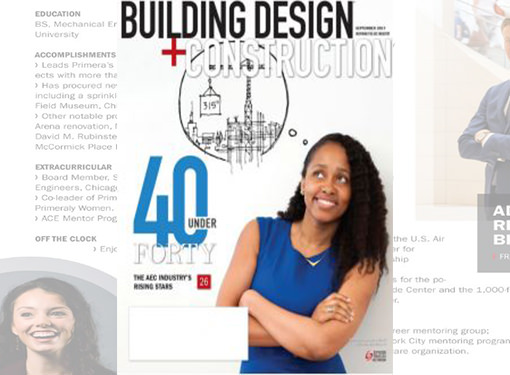 "Primera's Fire Protection Expert Inducted into BD+C's ""40 Under 40"" Class of 2017"