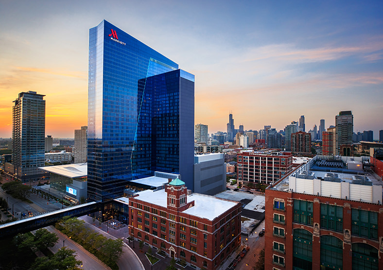 Primera's Marriott Marquis Project Celebrates Largest Chicago Hotel Opening in 2017
