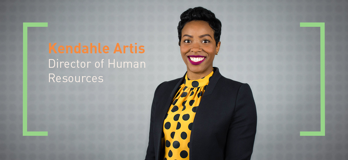 Kendahle Artis Promoted to Director of Human Resources