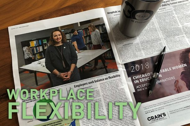Primera's Flexible Workplace Efforts Featured in Crain's Chicago Business