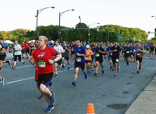 Primera Runs the J.P.Morgan Corporate Challenge