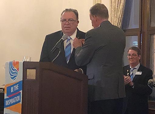 Primera Co-Founder, Dr. Pedro Cevallos-Candau, Installed as Governor of Rotary International