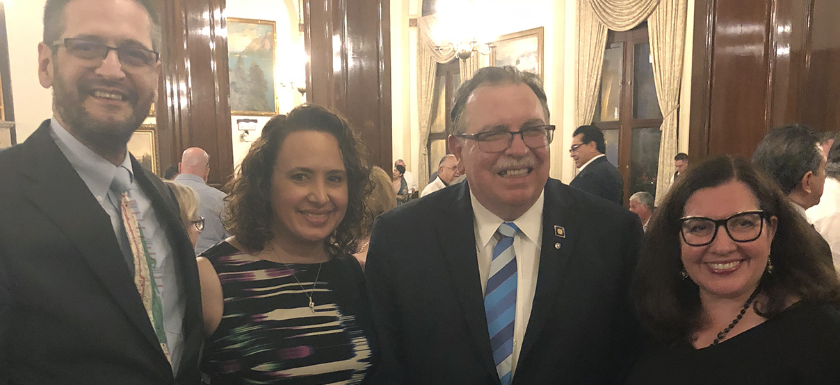 Primera Co-Founder, Dr. Pedro Cevallos-Candau, Installed as Governor of Rotary International