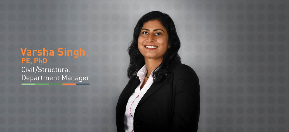 Primera Welcomes Varsha Singh, Civil/Structural Department Manager