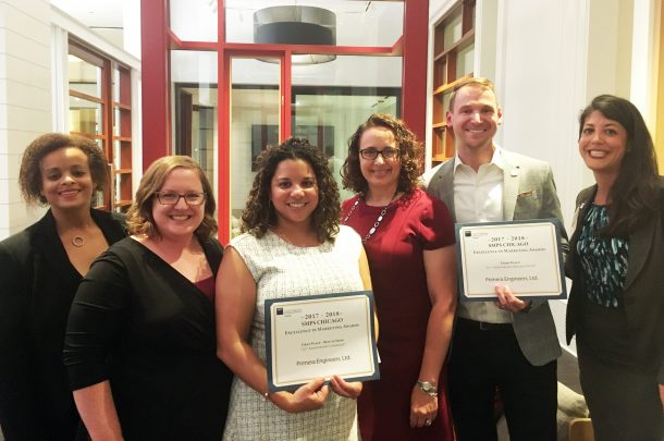 Primera Honored with SMPS Chicago 2018 Excellence in Marketing Awards