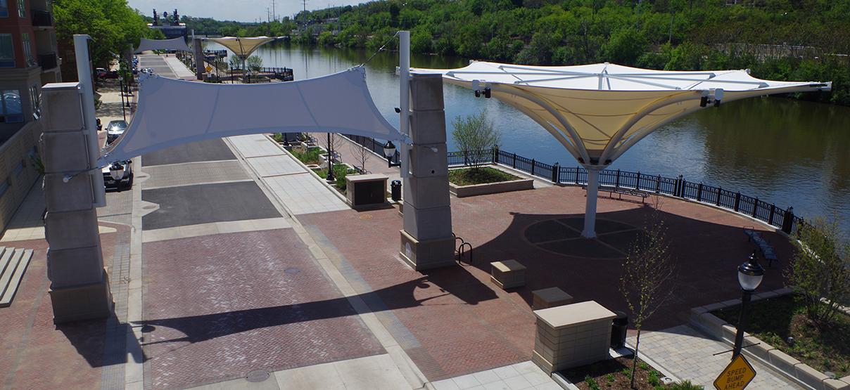 Elgin Riverwalk Promenade