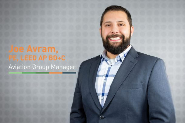 Primera Welcomes Joseph Avram, PE, LEED AP BD+C, Aviation Group Manager
