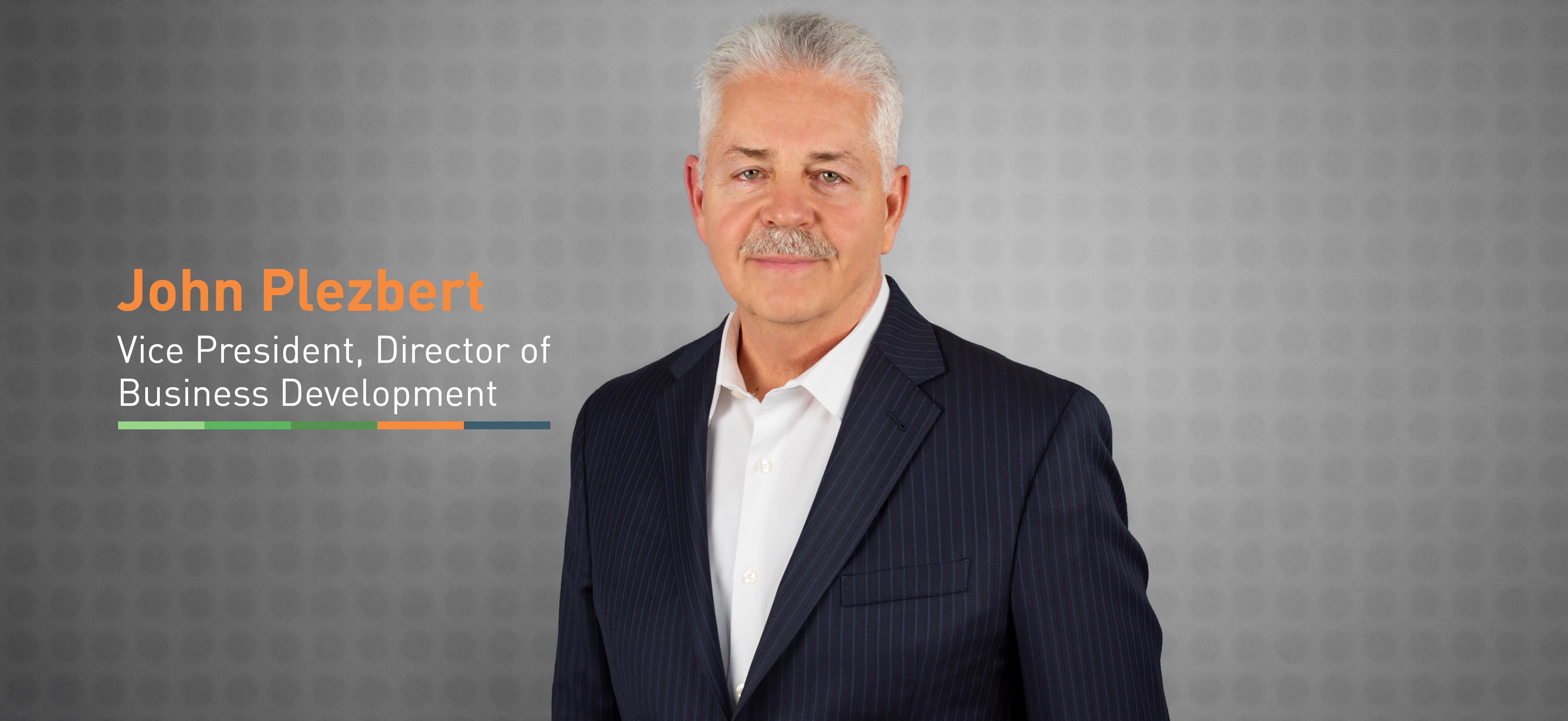 Primera Welcomes John Plezbert, Vice President, Director of Business Development