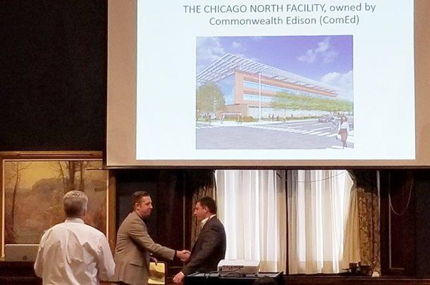 John Fetter, Lead Electrical Engineer, Receives the Charles Steinmetz Award for Technical Merit