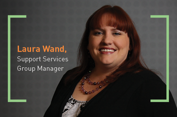 Laura Wand Promoted to Group Manager