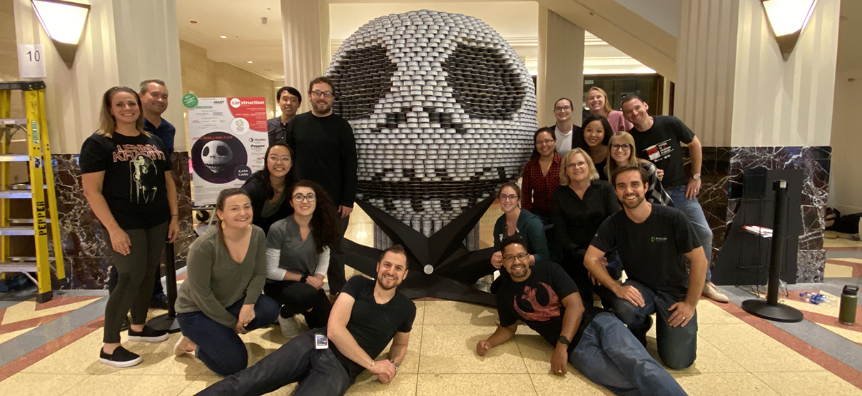 Primera Structure Wins Canstruction Chicago People's Choice Award