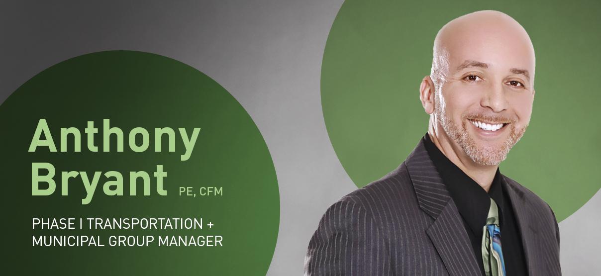Primera Welcomes Anthony Bryant, Phase I Transportation + Municipal Group Manager