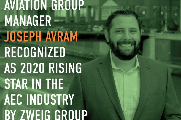 Joseph Avram Recognized as 2020 Rising Star in the AEC Industry
