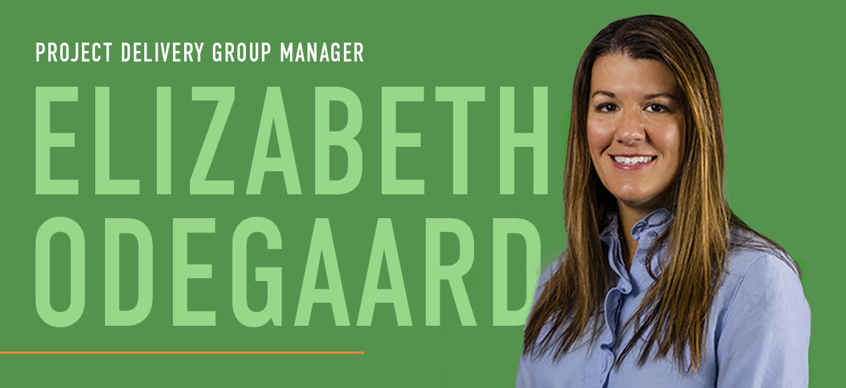 Elizabeth Odegaard Promoted to Project Delivery Group Manager