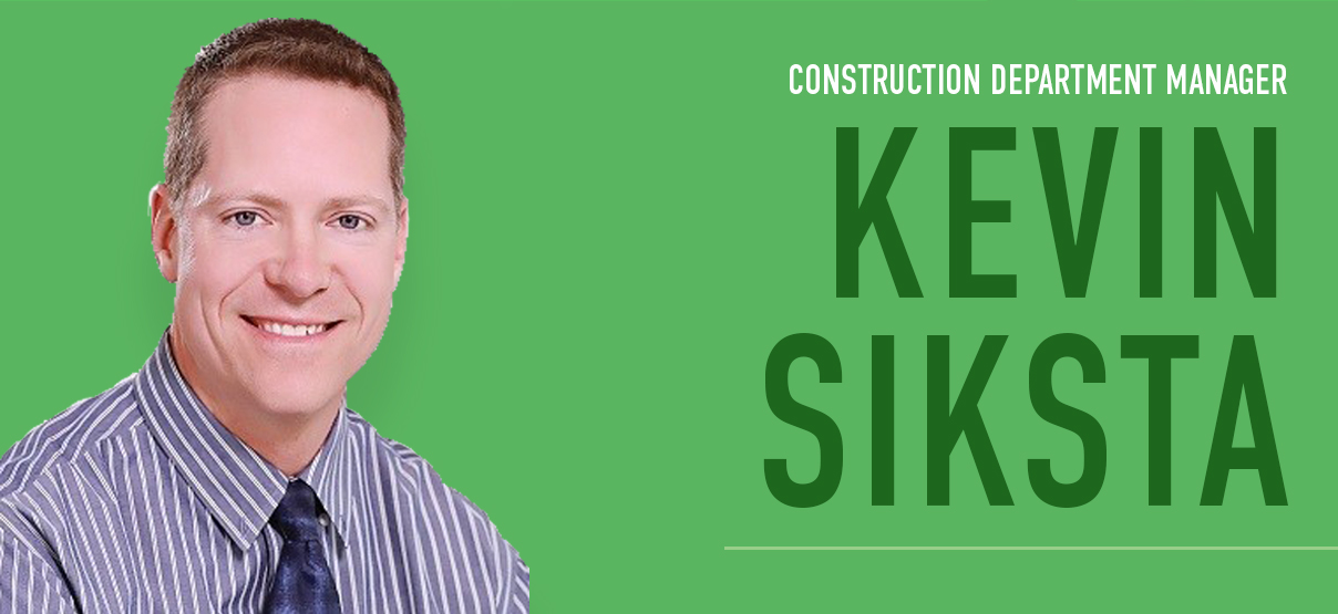 Primera Welcomes Kevin Siksta, PE as Construction Department Manager