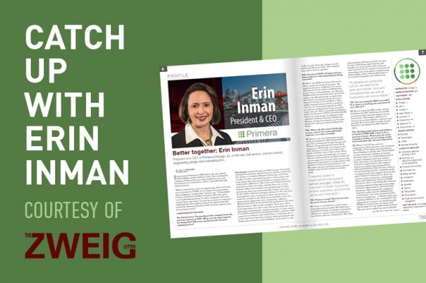 Catch Up with Our CEO Courtesy of The Zweig Letter