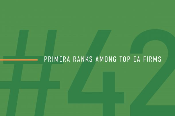 Primera Listed as Top Engineering/Architecture Firm in U.S. by Building Design+Construction