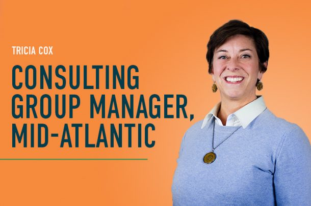 Tricia Cox Promoted to Consulting Group Manager for the Mid-Atlantic Region