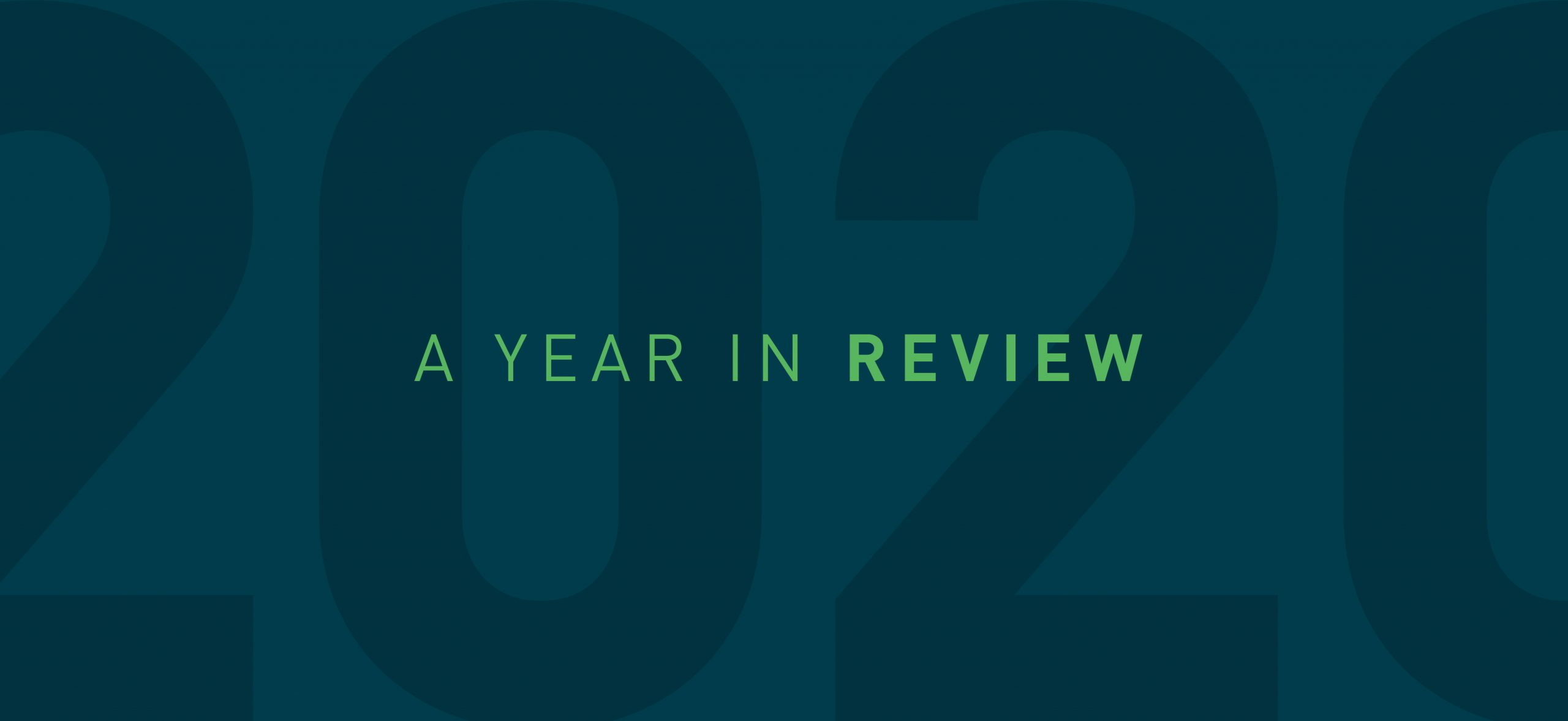 2020 Recap: A Year in Review