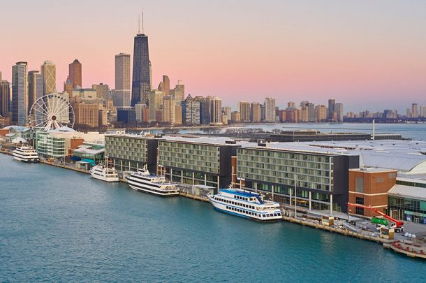 Primera's Navy Pier Hotel Project Open for Business