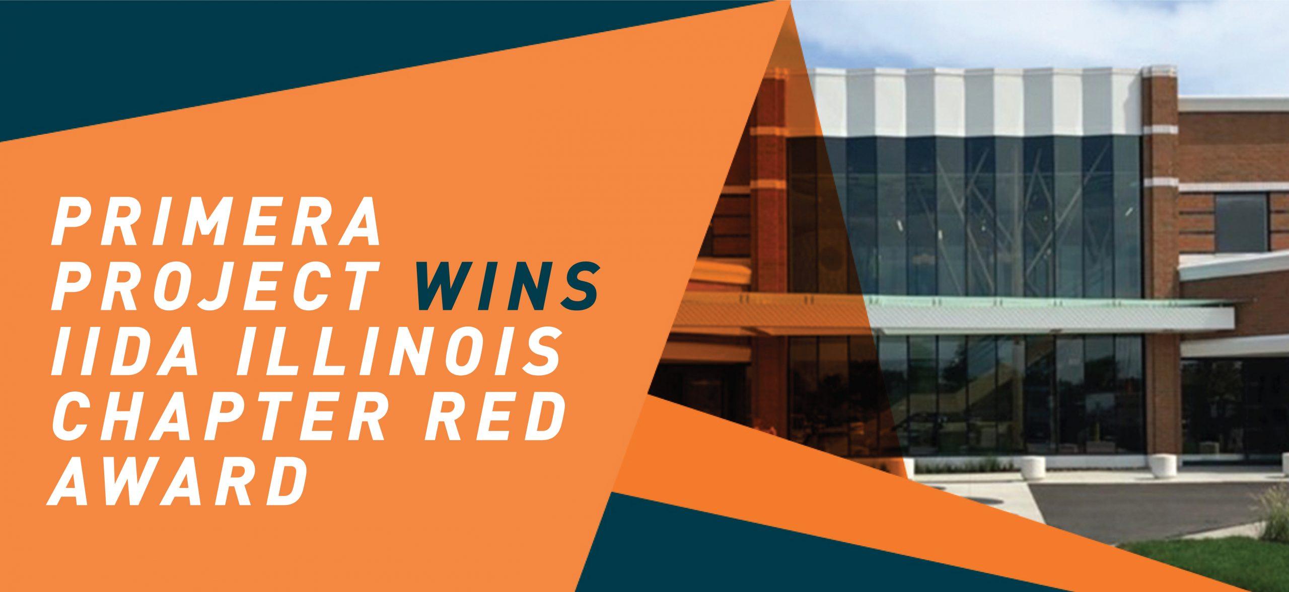 Primera Project Wins IIDA Illinois Chapter RED Award