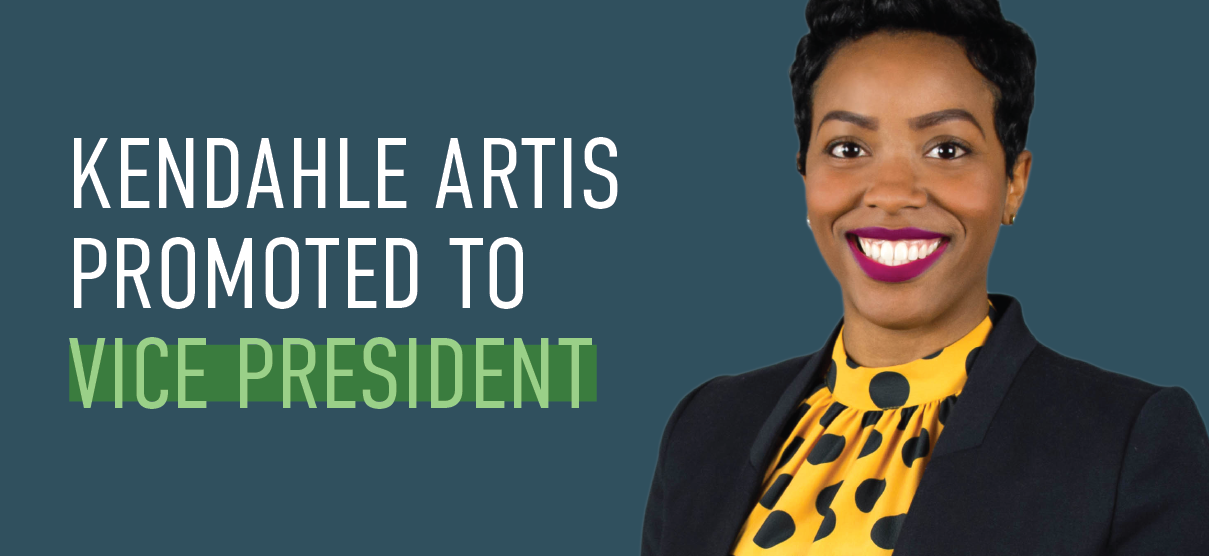 Kendahle Artis Promoted to Vice President of Human Resources