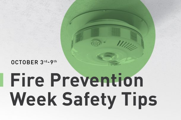 It's Fire Prevention Week, are you Prepared in Case of a Fire Emergency?